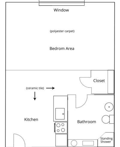 Lincoln Suite Floor Plan